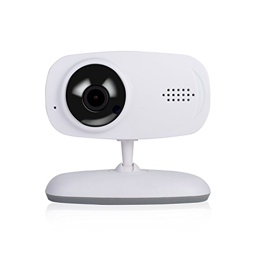 CENT Monitor Inteligente para Bebé Vigilabebés Inalambrico 720P HD Bucle de Tarjeta Grabación Anormal Alarma Sonora Vision Nocturna Cámara de Seguridad