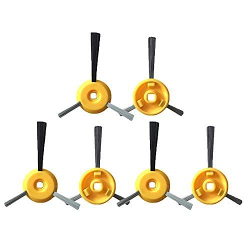 Houzhen Home Cleaning HEPA Cepillos laterales del rodillo principal cepillo para Shark ION ROBOT Aspirador RV700 RV720 RV750 RV750C RV755 Reemplazo (Color: 12 piezas cepillo lateral)
