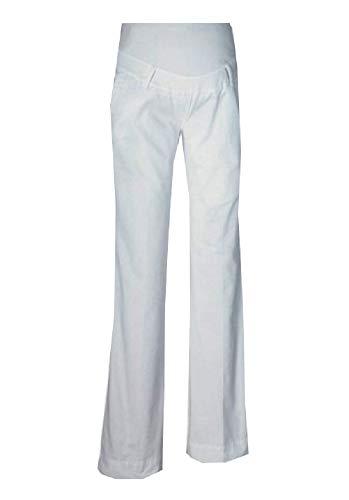 Umstandsmode Umstandsjeans Umstandshose Schwangerschaftshose weiß NEU Jeans Hosen Sondergrößen 80