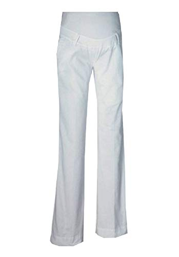 Neun Monate Umstandsmode Umstandsjeans Umstandshose Schwangerschaftshose weiß NEU Jeans