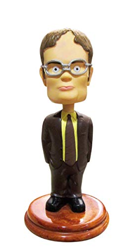 Madanar Dwight Schrute Bobblehead Collectible Desk Toy from...