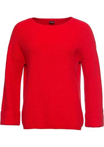 Versandhaus Damen Pullover mit ausgestelltem Ärmel, 323692 in Erdbeere 36/38