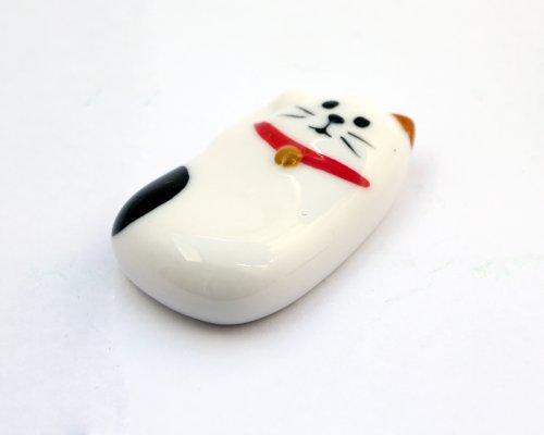 DECOLE concombre まったりお正月招き猫箸置き 三毛猫