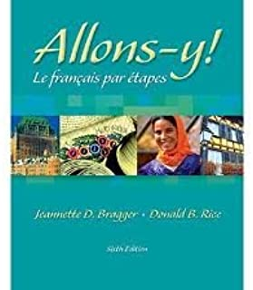 Allons-y! Le Français par étapes (with Audio CD) 6th (sixth) edition