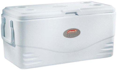 Coleman 3000002232 - Enfriador (100 qt), color blanco marino