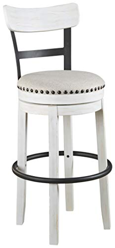 white bar stools - 7