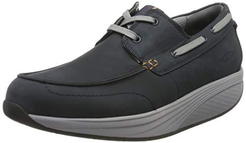 MBT KHERI 2 Lace UP M, Zapatos de Cordones Oxford para Hombre, Azul (Vintage Blue 1329u), 44 EU