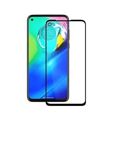 Película De Vidro Full Cover Cobre 100% 3D 5D 6D Motorola Moto G8 POWER