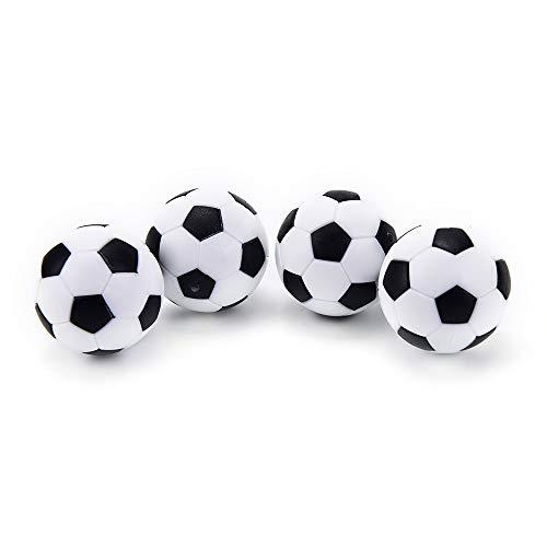 Deyan 4 Pezzi Mini Calcio Balilla da Tavolo Palle di Ricambio Sport Calcio Gioco Palla per Bambini Giocattoli da Tavolo interattivi