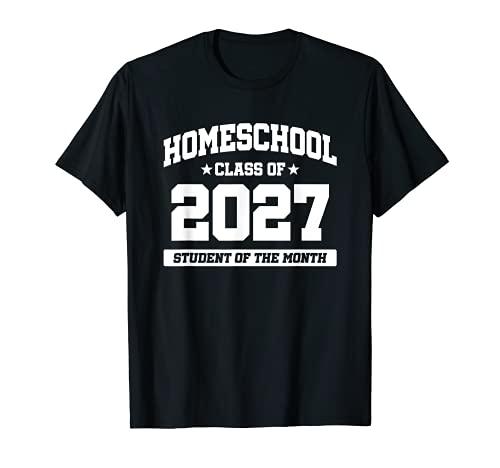 Niños de educación en casa - Estudiante del Mes - Clase de 2027 Camiseta