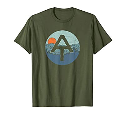 Appalachian Trail Outdoor Scene Hiking T-Shirt