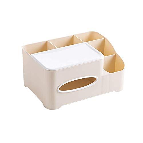 COLiJOL Soporte de Papel Caja de Pañuelos Organizador de Servilletas de Papel Organizador de Mesa Soporte para Encimeras de Baño