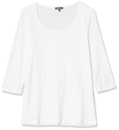 Street One 313977 Pania T-Shirt, Avorio (off White 10108), 42 (Taglia Produttore: 36) Donna