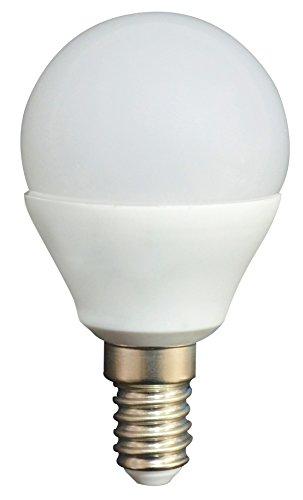 LYO 10332 – Ampoule Sphérique SMD, 5 W, 500 lm, 180 °, E14, lumière chaude, Blister