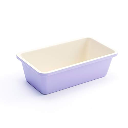 "GreenLife Bakeware Healthy Ceramic Nonstick, Loaf Pan, 8.5"" x 4.4"", Lavender"