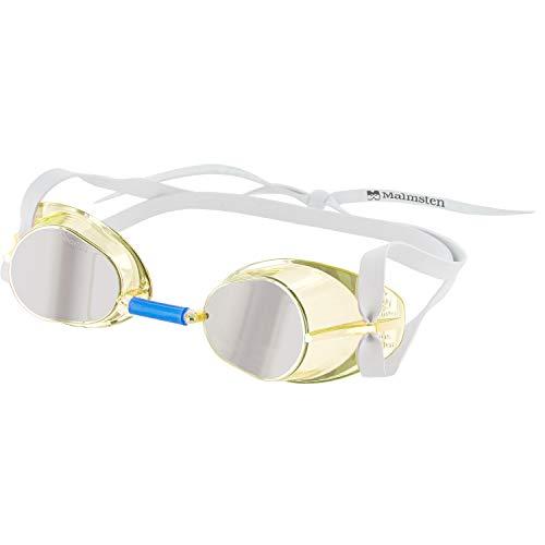 Malmsten Suecas Jewel Gafas de Natación, Unisex, Amarillo