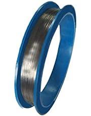 DSFHKUYB Filo sottile in tungsteno ad Alta purezza, Lunghezza 1 m - Purezza≥99,99% - Superficie liscia - Resistenza Alle alte Temperature - Pratico filamento in tungsteno,Diameter:0.4MM