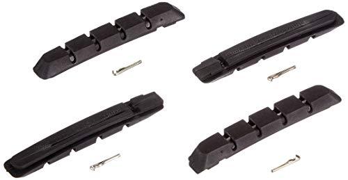 SHIMANO Erwachsene Bremsgummi M70R2 Bremsbeläge, schwarz, 1 mm