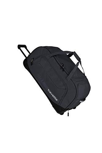 travelite Trolley Reisetasche Größe XL, Gepäck Serie KICK OFF: Praktische Reisetasche mit Rollen für Urlaub und Sport, 006911-04, 77 cm, 120 Liter, d'anthrazit (grau)