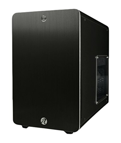 RAIJINTEK 外装にアルミニウムを採用したμATX規格マザーボード対応のキューブ型PCケース 0R200025(STYX BLACK)
