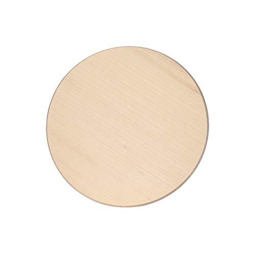 Bütic Ahorn Schinkenteller - rund - Holzteller Schneidebrett FSC, Brettgröße:30 cm Durchmesser