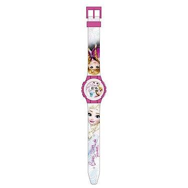 Disney Frozen- Reloj de pulsera digital, unica (Kids Euroswan WD17823)