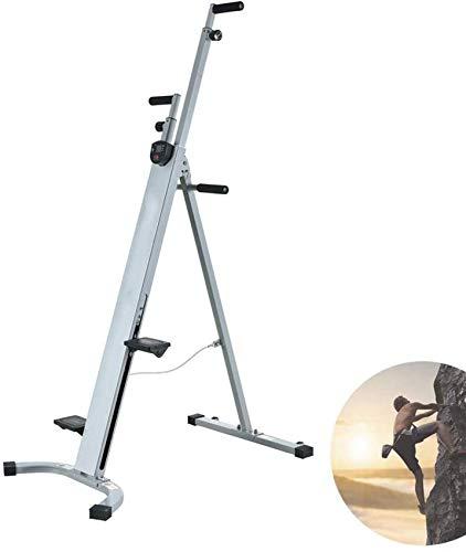 LIANGANAN Vertical Escalador Máquinas Bicicleta Ejercicio Doblado Cuerpo Completo Equipo de Ejercicio Cardio Aleación de Acero - Altura Ajustable para el Hogar Gimnasio Fitness zhuang94