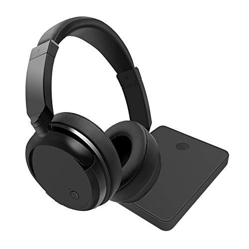 XHN Casque de Jeu Filaire pour PC PS4 3.5mm, 2.4G sans Fil 3.5mm + Prise USB Basse Stéréo Insonorisation Casque de Jeu pour Les Jeux en Ligne pour Ordinateur Portable-Black