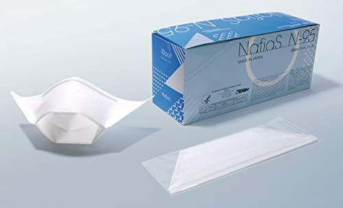 NafiaS(ナフィアス) 日本製 N95規格 ナノファイバーマスク 医療用 30枚入 個別包装 1箱