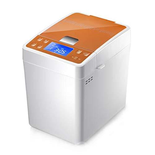 Máquina para hacer pan en casa automático espolvorear masa amasar fermentación panel de control LED de gran capacidad olla de barro función de arroz 22 menú de menú máquina de desayuno