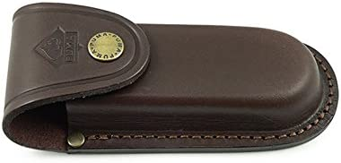 Puma Don't miss the campaign 55% OFF German Brown Leather Belt Sheath Folding Pouch Knives for
