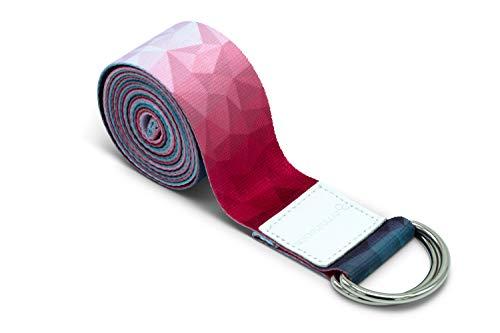 omnihabits - Cinturón de Yoga con Anillos de Metal