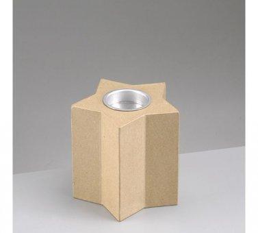 Efco Papp Art Kerzenhalter Stern