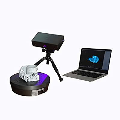 Industrial 3D Scanner High Resolution 0.04mm Accuracy Desktop 3D Scanner