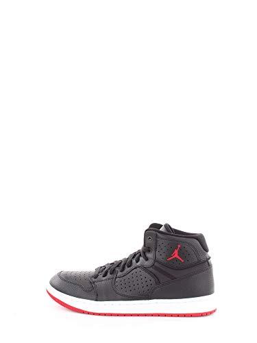 Nike Herren Jordan Access Basketballschuhe, Mehrfarbig (Black/Gym Red-White 001), 42.5 EU