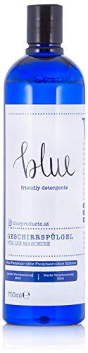 Blue - Gel para lavavajillas, alternativa a las pastillas de lavavajillas, biodegradable y vegano, 700 ml