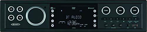 JWM9A AM FM DVD USB AUX HDMI BT  APP Ready Theater-Style Bluetooth Wallmount Stereo w/ App Control, Bluetooth Streaming Audio (A2DP) & Controls (AVRCP), 8 Speaker Outputs (8 x 20W) (Renewed)