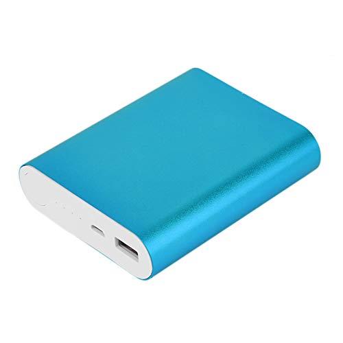 Triamisu 10400Mah Cargador de batería de Respaldo Externo USB de Gran Capacidad 4 * 18650 Cargador de batería para batería para teléfonos - Azul