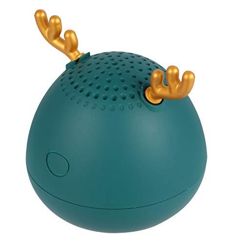 Hemobllo Mini altavoz inalámbrico con diseño de ciervo, portátil, portátil, para niños,...