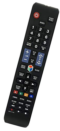 Ersatz Fernbedienung passend für Samsung UE60JU6450 | UE60JU6450U | UE60JU6800 | UE60JU6850 | UE60JU6870U