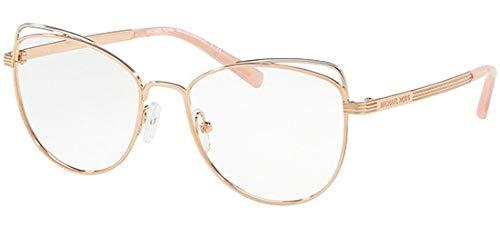 Michael Kors SANTIAGO MK3025 Eyeglass Frames 1108-53 - Rose Gold MK3025-1108-53