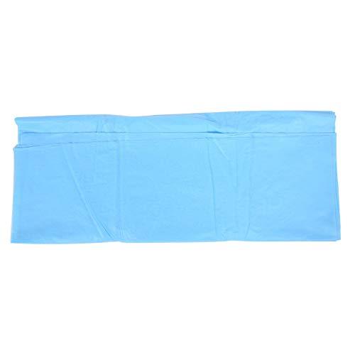 Fockety Suministros de Ropa de Cama, prácticas sábanas Desechables de Tela no Tejida, Rendimiento Estable, a Prueba de Suciedad para Viajes de Negocios, masajes(68 * 168 Blue)