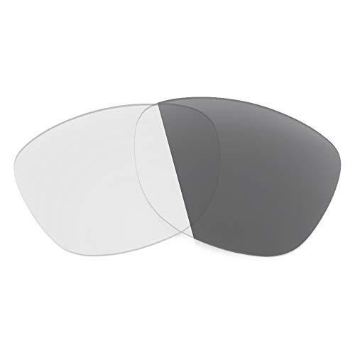 Revant Lentes de Repuesto Compatibles con Gafas de Sol Costa Apalach, No Polarizados, Gris Fotocromático