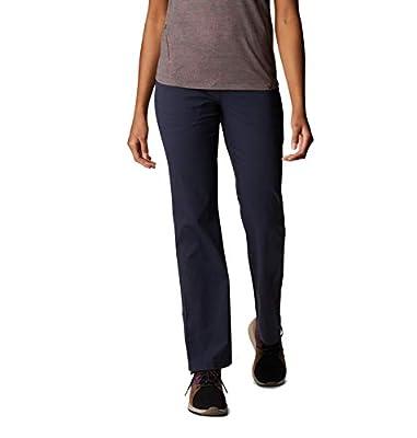 Mountain Hardwear Womens Dynama Pant for Climbing, Hiking, Cross-Training, or Everyday Use - Dark Zinc - Small Regular