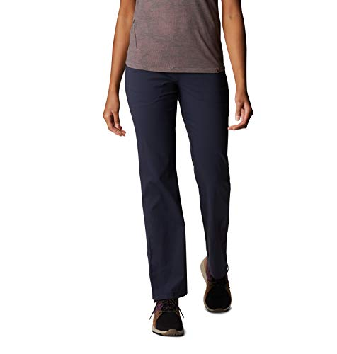 Mountain Hardwear Womens Dynama Pant for Climbing, Hiking, Cross-Training, or Everyday Use - Dark Zinc - Large Regular
