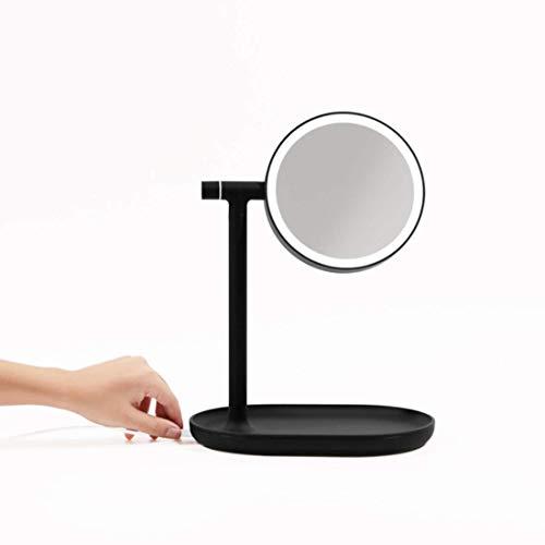 UniPo MUID(ムイド)『メイクアップミラー LED付き+3倍率拡大鏡(MUID-3x-makeup-mirror)』
