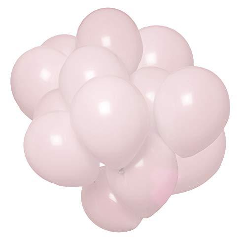 Cavore Luftballon Set in Pastell Rosa – 65 Stück – Partydeko Ballons für Geburtstag Frauen, Kindergeburtstag, Babyparty Mädchen, JGA, Hochzeit & Valentinstag