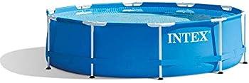 Intex 28200EH 10 Foot X 30 Inch Outdoor Metal Frame Swimming Pool