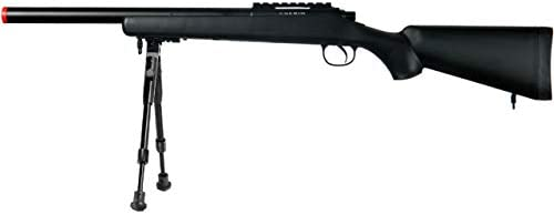 Well MB02 Airsoft Sniper Rifle Black Indefinitely W - New arrival Bipod