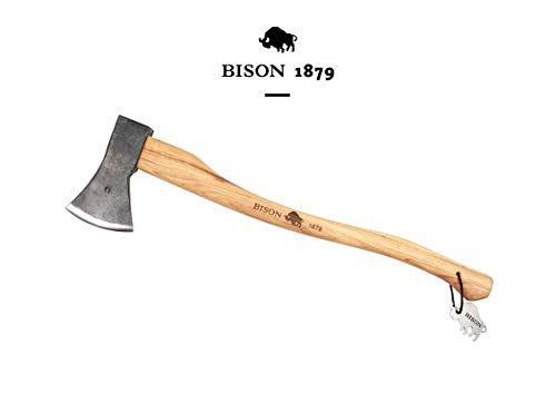 Bison 1879 //Universalaxt 1250g, 700mm Made in Germany, Natur